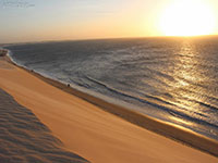 Sunset dune In Jijoca de jericoacara - Brazil