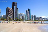 Boa viagem beach in Recife - Brazil