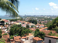 The view of Recife from Olinda