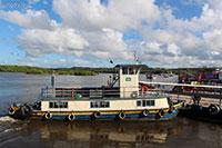 The ferry crossing from Porto Seguro to Arraial D�ajuda