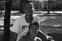 Local boys in Arraial D�ajuda