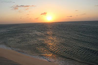 Sunset dune in Jijoca de Jericoacoara
