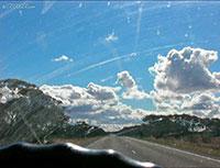 Queensland Desert Road, Eastern Australia
