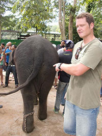 Elephant sanctuary  Western Malaysia